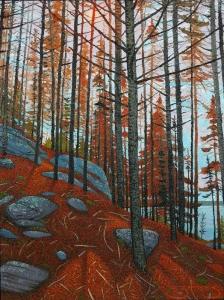 Cairn Hike Canoe Lake by Mark Berens