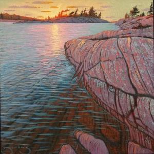 King Island Twilight by Mark Berens