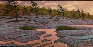 Purple Rain Haggart Bay by Mark Berens