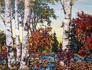 Day Birch by Maya Eventov