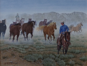 Round up (the Cowboy) by Neil Blackwell