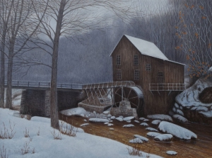 Old Grist Mill by Neil Blackwell