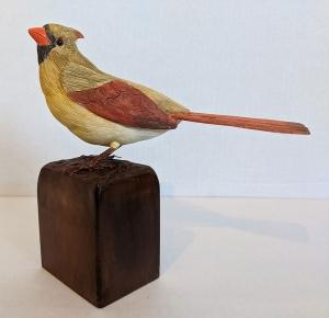 Female Cardinal by Al Bonar