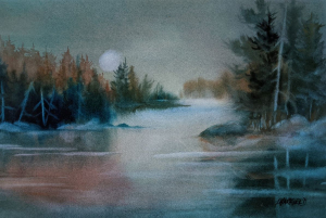 Moon River by Len Harfield