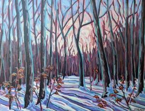 February Shadows by Jenny Kastner