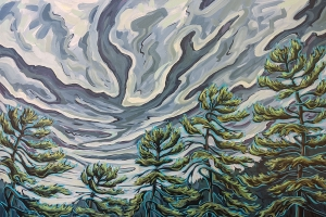The Storm in the Pines by Jenny Kastner