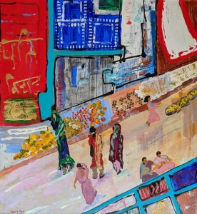The India Market (the Far Eastern Market) by Valerie Kent