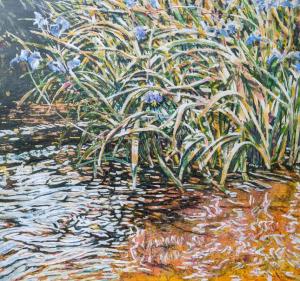 Wild Irises by Michael Zarowsky