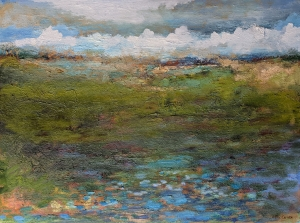 Field Pond by Paul Chester