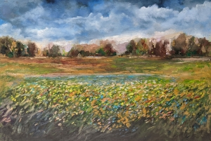 Summer Field by Paul Chester