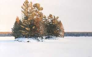 Twin Islands by Peter Rotter