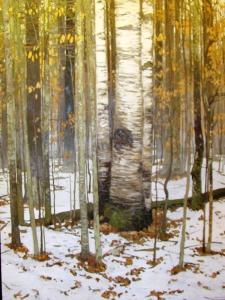 Winter Rain II by Peter Rotter
