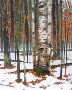 Winter Rain IIII by Peter Rotter