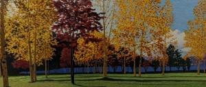 Fall Scene by Qing Zhang