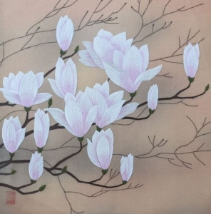 Cherry Blossom by Qing Zhang