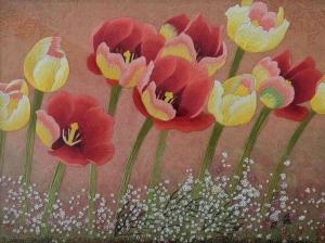 Tulips by Qing Zhang