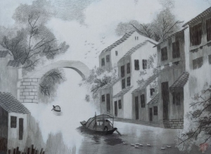 Venice of China by Qing Zhang