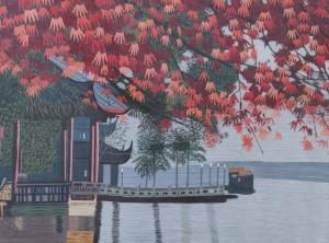 Zu Zhen Garden Dock by Qing Zhang