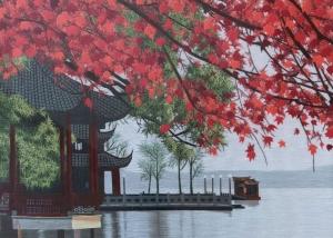 Zu Zhen Garden Dock II by Qing Zhang