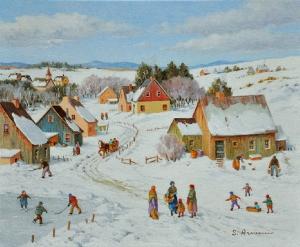 Kids Winter Games by Silvia Armeni