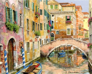 Ponte Rugabella by Silvia Armeni