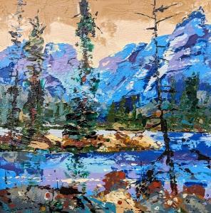 Azur Lake by Steve Tracy