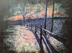 Winterized Walking Trail (Crothers Woods) by Susan L. Brown