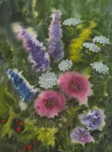 Vishnus Flowers by Taisia Paczkowski
