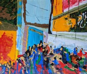 The Farmer's Market by Valerie Kent