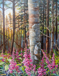 Woodland Blossoms (Firewees White Birch)
